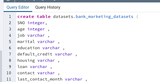 create table やり方(SQL)